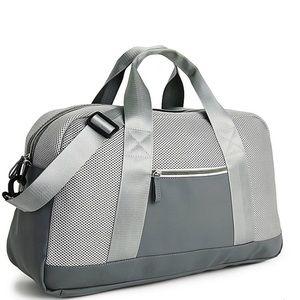 Gray Duffle Bag